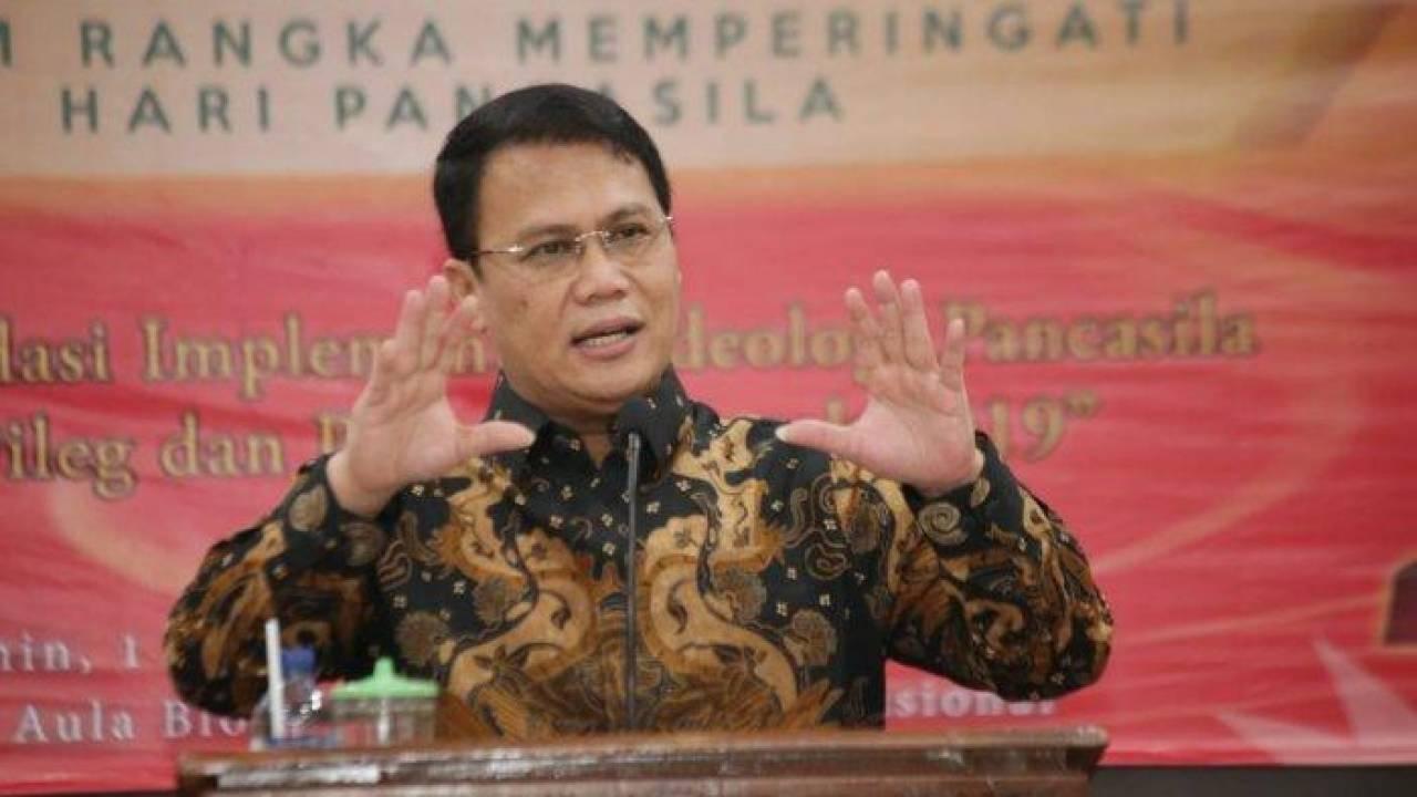 MPR Minta BRIN Jadikan Pancasila Sumber Riset-Inovasi